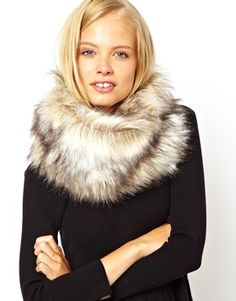 faux fur snood | ASOS