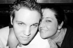 Lisa Marie Presley and her son Ben. He looks so much like his Grandpa Elvis Presley.