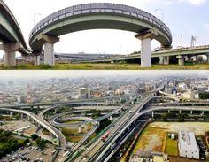 Crazy and amazing japansese highways