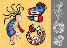 Картинки по запросу индейские символы
