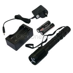 MX -400LM XM-L T6 LED Zoomable Rechargeable Battery Super Light Flashlight Torch