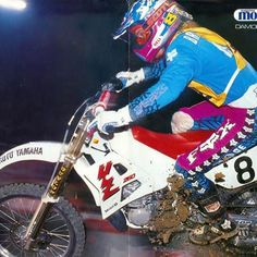 The Beast from the East enjoying a little European vacation in the fall of 1989 -Moto Verte 📷 - tonyblazier Yamaha Motocross, Beast From The East, European Vacation, Damon, Hot Rods, Random Stuff, Bicycle, Racing, Motorcycle