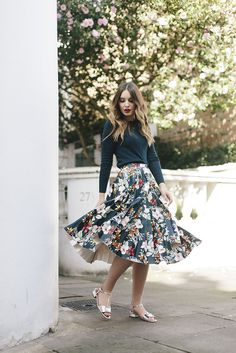 The Floral Midi | What Olivia Did...
