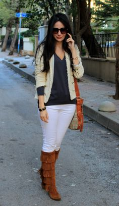 Minnetonka 5-Layer Fringe ... These are my favorite to wear and dance in!!