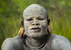Suri warrior, Tulgit, Omo Valley, Ethiopia   Flickr - Photo Sharing!
