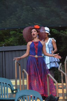 Nemuna Ceesay at the The Comedy of Errors last dress rehearsal (6/24). Photo by Jay Yamada.