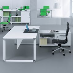 Large Modern Desk ultra modern white lacquer executive desk with three drawers