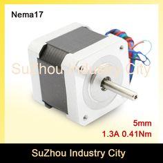 NEMA 17 cnc stepper motor 42x40mm 1.3A 4-lead 0.41N.m Nema17 stepping motor 1.8deg 58Oz-in for 3D printer For CNC router machine