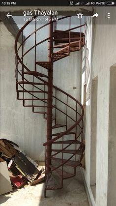 Wrought Iron Garden Furniture, Stairways, Gates, Spiral, Loft, Shelves, Bed, Design, Home Decor