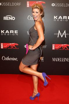 KARE Design @ new faces FASHION award! Annica Hansen attends KARE Design at the New Faces Award Fashion 2013 at Rheinterrasse on July 22, 2013 in Duesseldorf, Germany. #KARE #KAREDesign