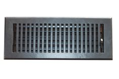 Vent Covers Unlimited - 4 x 12 REAL CAST IRON Contemporary Floor Register, $38.00 (http://www.ventcoversunlimited.com/4-x-12-cast-iron-contemporary-floor-register/)