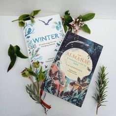 Before starting a day of work and creativity, I wanted to share with you two books which I love to open and get the feel and wonder of the months cycle of nature changes. one book is 'The Almanac, A seasonal guide to 2020 which is full of beautiful illustrations and tips, calender days and home caring and baking by @lialeedertz and the other is 'Winter' and anthology for the changing seasons edited by @melissaharrison which as it states is 'a book to live with and to love' and 'A celebration…