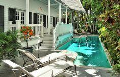 NOONA'S MANSION - a fantastic 7 bedroom estate in Key West, for rent through Last Key Realty #keywest #vacation #vacationrentals #lastkeyrealty