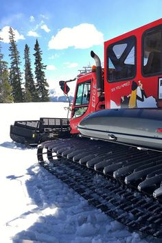 Snow Cat Tour #travel
