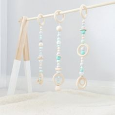 Modern Wooden Baby Gym; Geometric Baby Activity Center; Baby mobile, wooden mobile, play gym, wooden baby toy