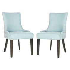 Gretchen Dining Chair in Light Blue
