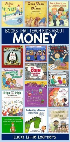 Children's Books that Teach Money – Lucky Little Learners Teaching students about money can be a challenging and multi-faceted endeavor. Here's a list of children's books that you can use to help teach money in your classroom. Teaching Money, Help Teaching, Student Teaching, Teaching Reading, Kids Reading, Guided Reading, Reading Lists, Teaching Tools, Money Book