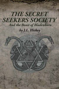 ~~Secret Seekers Society and the Beast of Bladenboro~~  Secret Seekers Society and the Beast of Bladenboro follows the young protagonists Hunter Glenn, and Elly Ann through an adventure ripe with adversity, paranormal monsters, secret societies, and most haunting of all, a life without their parents.