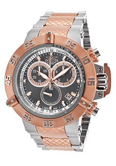 Men's Subaqua Noma III Two-Tone Steel Chrono Gunmetal Dial