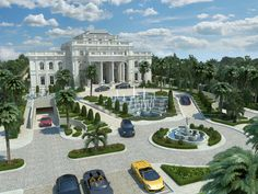 Classic Style Mansion Doha I Qatar on Behance Doha, Classic Style, Behance, Real Estate, Mansions, Architecture, House Styles, Furniture, Home Decor