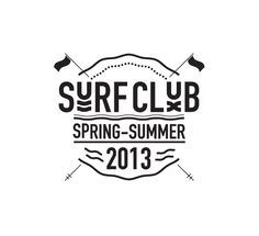 Surf Club Logo / Spring Summer 2013