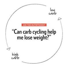 Carb Cycling to Lose Weight - Eating Well