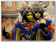 Venice Carnival. Free picture for your blog or website. | by photo-555.com