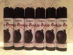 Homemade Vanilla Fuse All Organic Lip Bomb by BombCityBeauty