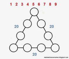 Acertijo: Triángulo de números | matematicascercanas