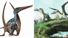 Los científicos se llevan una sorpresa con dos nuevos dinosaurios voladores
