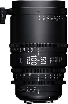 Sigma Cine Lens for Cinematography in 2016: High Speed Zoom 50-100mm T2: Weatherproof, Compact Size, Super 35mm Format, 180º Focus Rotation & More http://www.photoxels.com/sigma-cine-18-35mm-t2-50-100mm-t2/