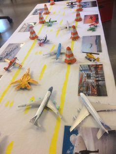 Lekemiljø- flyplass i barnehagen