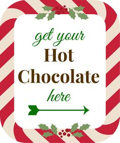 Hot Chocolate Cup Template