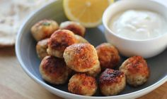 These chicken meatballs are really popular with kids and adults alike. Serve them on skewers, rolled in flat bread, pop them into lunch boxes or just eat them straight from the pan.