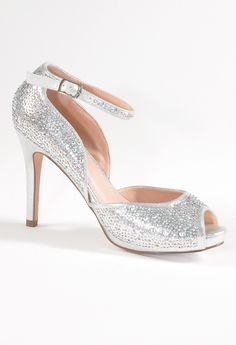 High Heel Open Sided and Peep Toe Sandal from Camille La Vie