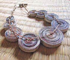 Paper Bead Jewelry Inspiration
