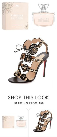 """""""beautiful"""" by betty-jean on Polyvore featuring Chloe + Isabel and Christian Louboutin"""