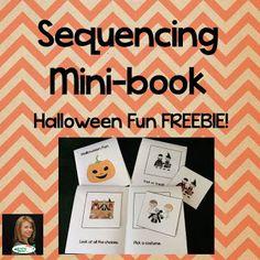 Sequencing Minibook for Halloween Fun!
