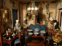 Ann Meehan Collection One of the most exciting days in our dollhouse lives - Dolls' Houses Past & Present