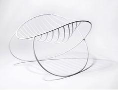 molecule rocking chair by Henrik Sørig Thomsen