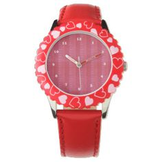 Shop Zazzle's selection of customizable Red watches & choose your favorite design from our thousands of spectacular options. Horse Watch, Funny Sheep, Cute Watches, Wrist Watches, Heart For Kids, Beautiful Gifts, Blue Butterfly, Red Poppies, Fashion Watches