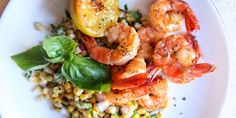 Lemon Shrimp with Ba