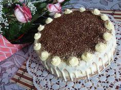 Torta zebra s vaječným likérom - Recept Torta Zebra, Tiramisu, Ethnic Recipes, Food, Basket, Essen, Meals, Tiramisu Cake, Yemek