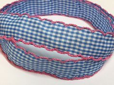 Add to cart and update quantity. 1 Yard 1 inch - Light Blue Plaid Fabric Ribbon with Pink Moonstitch Border Plaid Fabric, Fabric Ribbon, Grosgrain Ribbon, Halloween Ribbon, Chevron Ribbon, Embroidery Patches, Blue Plaid, Hair Bows, Light Blue