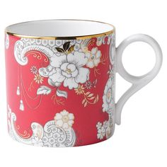 Pink Rococco Mug 30 cl, grand - Wedgwood - Wedgwood - RoyalDesign.fr