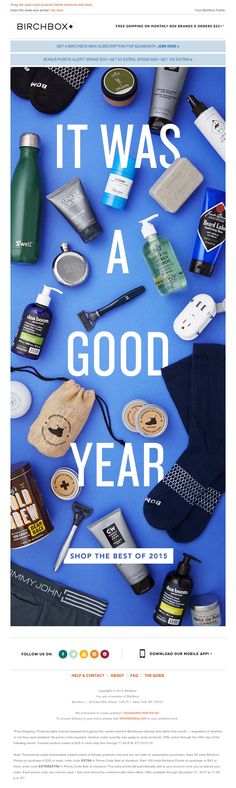 Birchbox - Our Humble Toast to 2015                                                                                                                                                                                 More