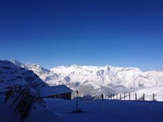 Vue depuis le pied de L'Eiger