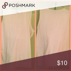 Jerzees top , off white Jerzees top.used. Size 2X. jerzees Tops