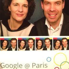 Google office Paris . Orange France . Odile Roujol et Louis Vaillant.