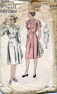 Dixie Damsels Way Back Then: WWII Navy Nurse Uniform